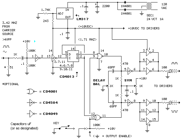 class e am transmitter for 1710 khz circuit description and