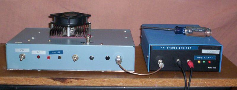 14-watt FM Broadcast Transmitter Photos