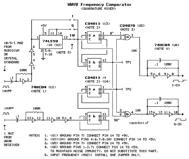 wwvb based precision frequency comparator rh maxmcarter com Op-Amp Comparator Circuit Schematic Voltage Comparator Circuit